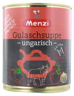 Menzi Ungarische Gulasch-Suppe extra (800 ml) - 4016900003108
