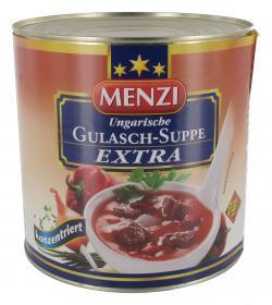 Menzi Ungarische Gulasch-Suppe extra (2,50 l) - 4016900003511