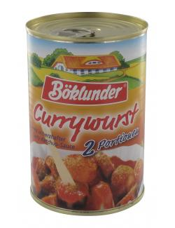 Böklunder Currywurst in Curry-Ketchup-Sauce (400 g) - 4000404328522