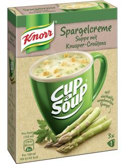 Knorr activ Spargelcreme Suppe