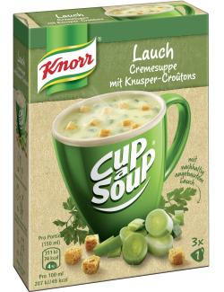 Knorr activ Lauchcreme Suppe