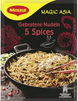 Maggi Magic Asia Gebratene Nudeln 5 Spices