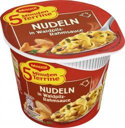 Maggi 5 Minuten Terrine Nudeln in Waldpilzrahmsauce (56 g) - 4005500320517
