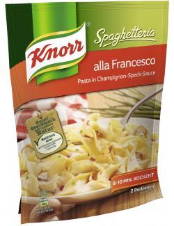 Knorr Spaghetteria alla Francesco (163 g) - 8711200584130