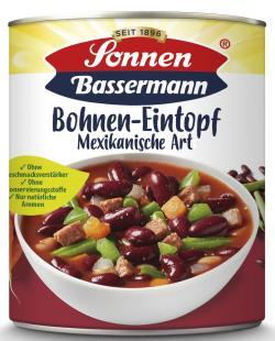 Sonnen Bassermann Mexikanischer Bohnen-Eintopf (800 g) - 4008585101712