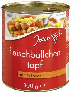 Jeden Tag Fleischbällchentopf mit Möhren (800 g) - 4306188343356