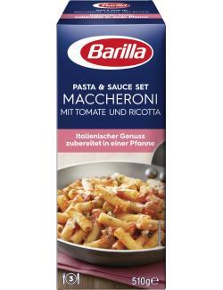 Barilla Pasta & Sauce Set Maccheroni Tomate & Ricotta (510 g) - 8076809569767