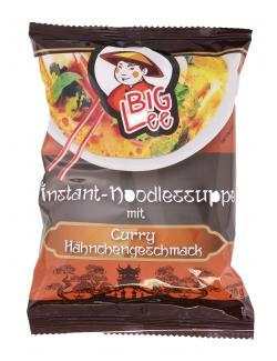 BigLee Instant-Noodlessuppe mit Curry Hähnchengeschmack (70 g) - 5900652420278