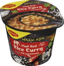 Maggi Magic Thai Asia Red Rice Curry mit Jasminreis (45 g) - 7613036170796