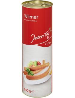 Jeden Tag Wiener Würstchen