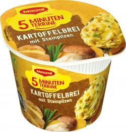 Maggi 5 Minuten Terrine Kartoffelbrei mit Steinpilzen