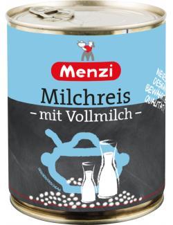 Menzi Milchreis mit Volllmich