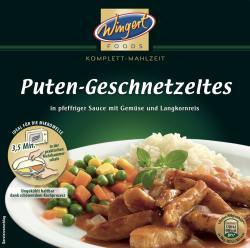 Wingert Foods Puten-Geschnetzeltes