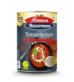 Sonnen Bassermann Tomatensuppe mit Grillpaprika und Chili