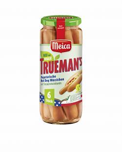 Meica Trueman's vegetarische Hot Dog Würstchen