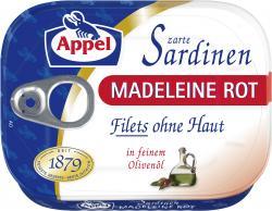 Appel Zarte Sardinen Madeleine Rot (105 g) - 4020500977820