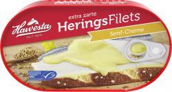 Hawesta Heringsfilets in Senf-Creme (200 g) - 4006922000902