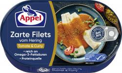Appel Heringsfilets Tomate & Curry