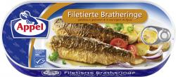 Appel Bratheringe filetiert