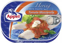 Appel Heringsfilets Tomate-Mozzarella
