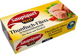 Saupiquet Thunfisch-Filets in Sonnenblumenöl