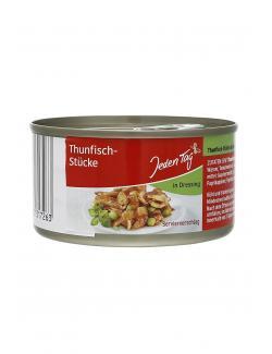 Jeden Tag Thunfisch-Stücke in Dressing