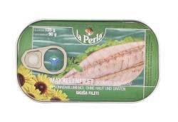 La Perla Makrelenfilet in Sonnenblumenöl ohne Haut und Gräten (90 g) - 5711170107004