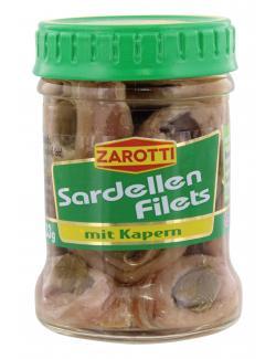 Zarotti Sardellenfilets mit Kapern (65 g) - 80258599