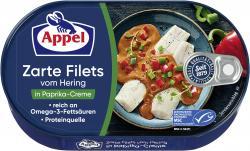 Appel Heringsfilets in Paprika-Creme