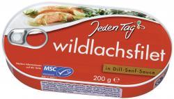 Jeden Tag Wildlachsfilet in Dill-Senf-Sauce (200 g) - 4306180171216