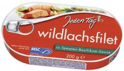 Jeden Tag Wildlachsfilet in Tomaten-Basilikum-Sauce (200 g) - 4306180171254