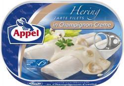 Appel Heringsfilets in Champignon-Creme