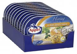 Appel Heringsfilets in Eier-Senf-Creme