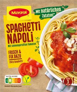 Maggi Idee für Spaghetti Napoli