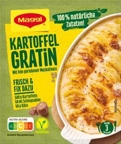 Maggi Idee für Kartoffel Gratin