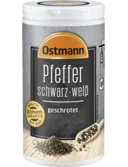 Ostmann Pfeffer schwarz-weiß geschrotet