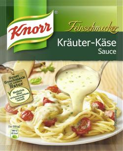 Knorr Feinschmecker Kräuter Käse Sauce (250 ml) - 4038700114105