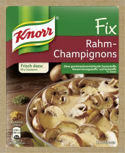 Knorr Fix Rahm-Champignons