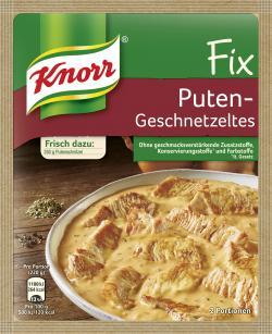 Knorr Fix Puten-Geschnetzeltes (36 g) - 4000400142412