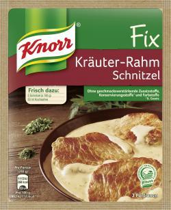 Knorr Fix Kräuter-Rahm Schnitzel