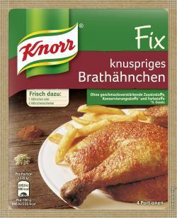 Knorr Fix Knuspriges Brathähnchen (29 g) - 4038700101648