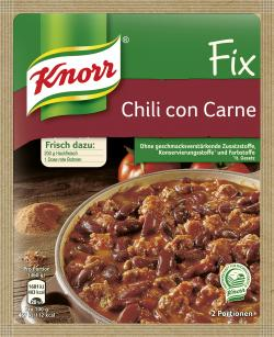 Knorr Fix Chili con Carne (37 g) - 4000400103000