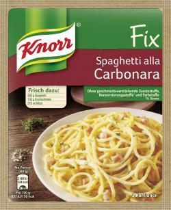Knorr Fix Spaghetti alla Carbonara (38 g) - 4038700119674