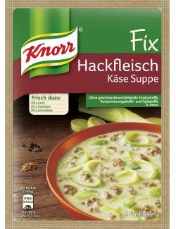 Knorr Fix Hackfleisch Käse-Suppe