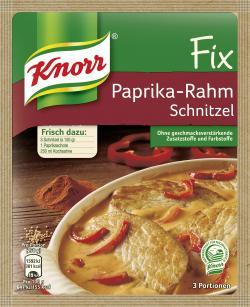Knorr Fix Paprika-Rahm Schnitzel (43 g) - 4000400145383