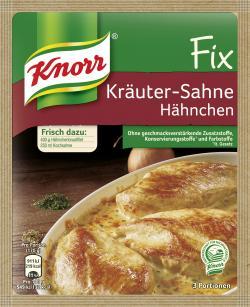Knorr Fix Kräuter-Sahne Hähnchen (28 g) - 4038700127334