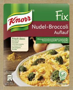 Knorr Fix Nudel-Broccoli Auflauf