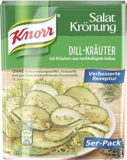 Knorr Salatkrönung Dill-Kräuter (5 x 90 ml) - 4038700119421