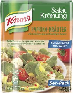 Knorr Salatkrönung Paprika-Kräuter (5 x 90 ml) - 4038700119438