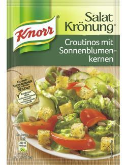 Knorr Salatkrönung Croutinos mit Sonnenblumenkernen